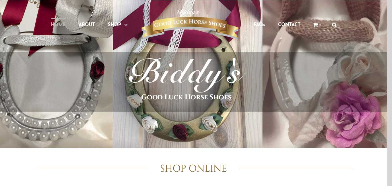 Biddy's Good Luck Horse Shoes